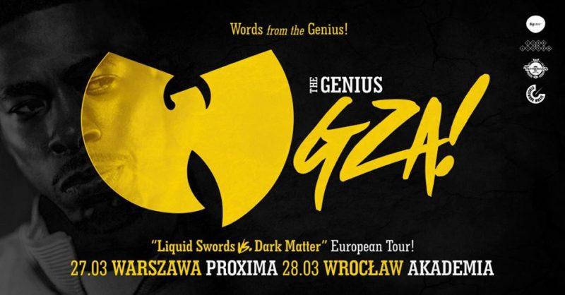 Wu-Tang Clan: GZA @Warszawa