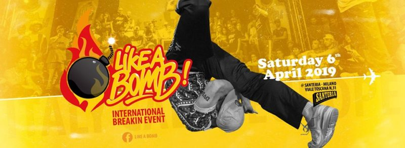 Like a Bomb! International Breaking Event