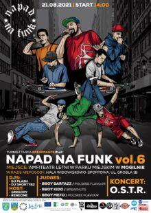 Plakat 5 napad n funk