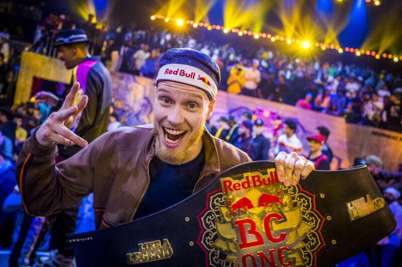 B-Boy Menno po raz trzeci wygrywa finał Red Bull BC One
