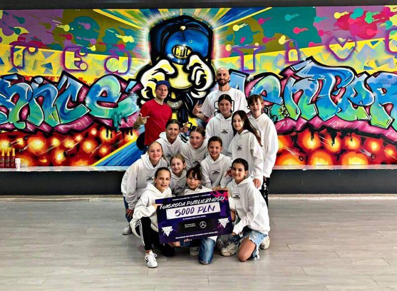 Young Generation wygrywają nagrodę publiczności Tancbuda Challenge